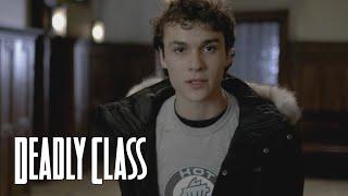 DEADLY CLASS | Meet Marcus | SYFY - SYFY