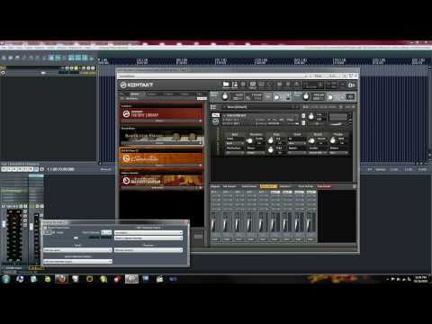 Tutorial - How to set up Native Instruments Kontakt 4 in REAPER