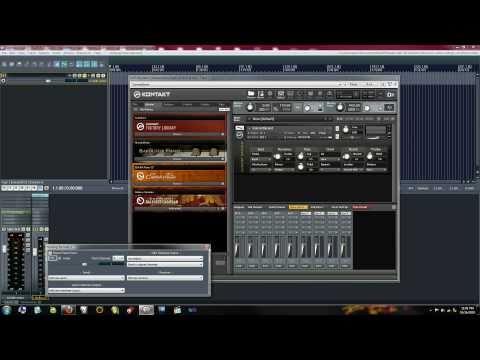 Tutorial - How to set up Native Instruments Kontakt 4 in REAPER