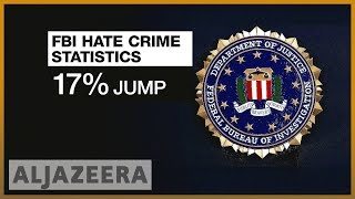 🇺🇸FBI: Reported hate crimes surged by 17 percent in US last year | Al Jazeera English - ALJAZEERAENGLISH