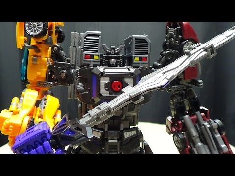 Fansproject M3 (Menasor): EmGo's Transformers Reviews N' Stuff