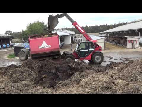 TRAKTORY  FENDT NEW HOLLAND A CAT - hnojení a podrývání 2014