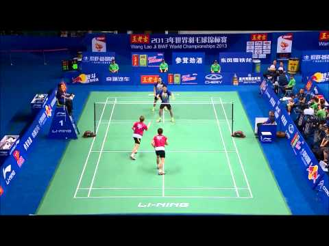 Top 20 doubles rallies bwf world championships 2013