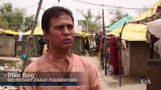 Rohingya Refugees in New Delhi Face Daily Difficulties - VOAVIDEO