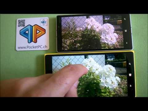 Nokia Lumia 930 vs Nokia Lumia 1520 Display und Kameravergleich
