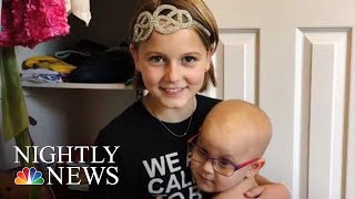 11-Year-Old Cancer Survivor Starts Foundation To Help Other Children Fight Back | NBC Nightly News - NBCNEWS