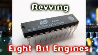 Royalty Free :Revving Eight Bit Engines