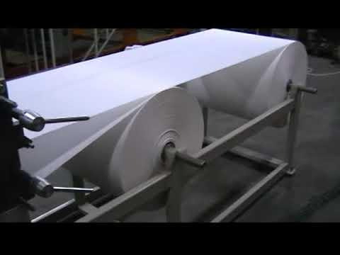 Masina za toalet papir i ubruse u listicima - Machine for toilet pape and towels in layers v-v