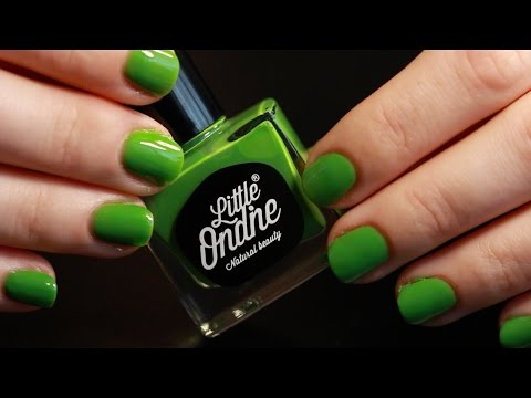 ASMR - Little Ondine Peel-able Nail Polish! - Whispered