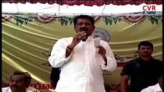 Minister Ganta Srinivasa Rao | Lay Stone Foundation for Construction of ZPHS additional buildings| - CVRNEWSOFFICIAL