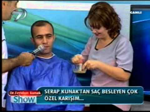 Serap Kunak'tan saç besleyici çok özel karışım