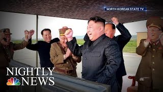 North Korean Leader Vows to Complete Nuclear Weapons Program | NBC Nightly News - NBCNEWS