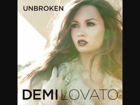 Demi Lovato-UnBroken (Full Song Lyrics On Screen)