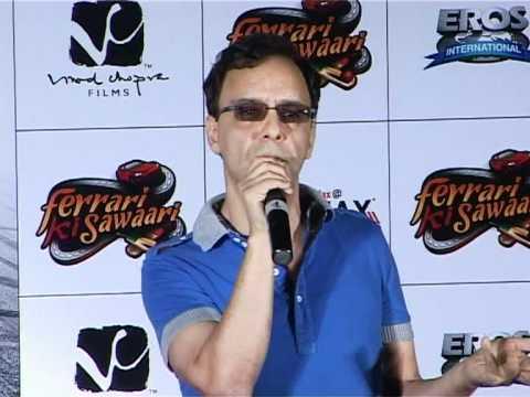 Vidhu Vinod Chopra And Sharman Joshi Promote Ferrari Ki Sawaari – Latest Movie Release cloned