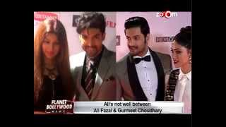 Gurmeet Choudhary and Ali Fazal upset with eachother | Khamoshiyan Movie