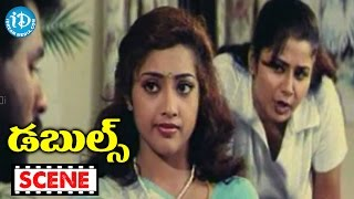 Doubles Movie Scenes - Sangeetha Irritates Prabhu Deva || Manivannan || Vivek - IDREAMMOVIES