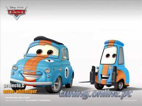 Tuning pixar CARS---Strážnice