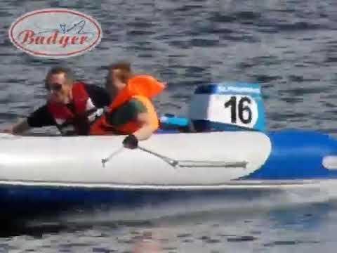 видео лодка баджер и мотор 5 л с видео