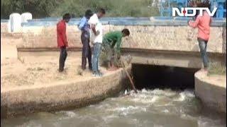 प्रदूषण की वजह से काला हुआ ब्यास नदी का पानी - NDTVINDIA