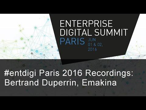 #EntDigi16 Recording - Bertrand Duperrin
