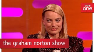 Margot Robbie used to be a brat - The Graham Norton Show - BBC One - BBC