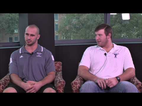 Texan News Sports - Interview with Lucas Love and Alex Anderson