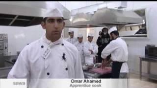 تقرير عبدالله الكفاوين عن مؤسسه التدريب المهني
