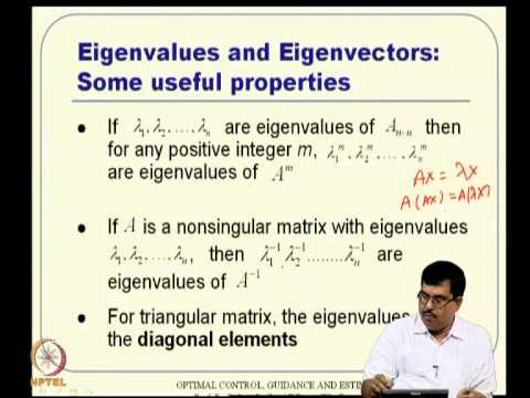 Mod-01 Lec-02 Overview of SS Approach and Matrix Theory