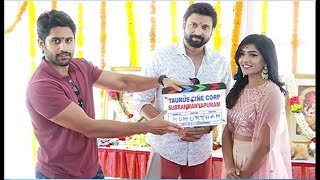 Sumanth New Movie Launched By Naga Chaitanya - Subramanyapuram Movie Opening - Eesha Rebba - 6TV