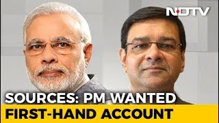 "PM Modi Met RBI Chief For ""First-Hand Account"" Amid Rift: Sources - NDTV"