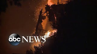 Fires in Northern California expected to spread - ABCNEWS