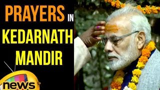 PM Modi Offer Prayers In Kedarnath Mandir, Uttarakhand   Mango News - MANGONEWS