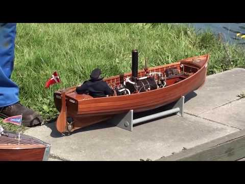 Steam model boating day out