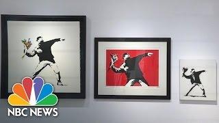 Admit One: Inside New Art Exhibit Of Banksy's Work | NBC News - NBCNEWS