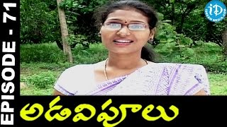 Adavipoolu || Episode 71 || Telugu Daily Serial - IDREAMMOVIES