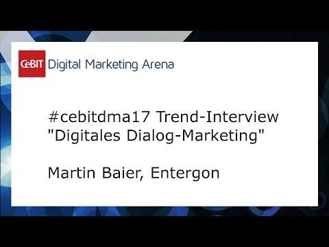 #cebitdmx17 Interview Martin Baier, Entergon
