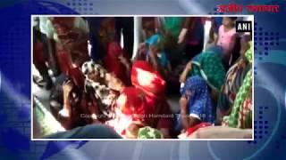 video : यूपी के औरैया में दो साधुओं की हत्या, एक घायल