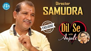 Director V Samudra Exclusive Interview || Dil Se With Anjali #1 || #463 - IDREAMMOVIES