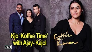 Karan's 'Koffee Time' with Husband & Wife Ajay- Kajol - IANSINDIA