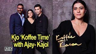 Karan's 'Koffee Time' with Husband & Wife Ajay- Kajol - IANSINDIA
