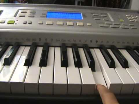 How to play Breaking the Habit by Linkin Park on Piano/ Keyboard