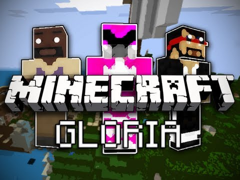 Minecraft Gloria w Mark and Nick Part 1 Shipwrecked
