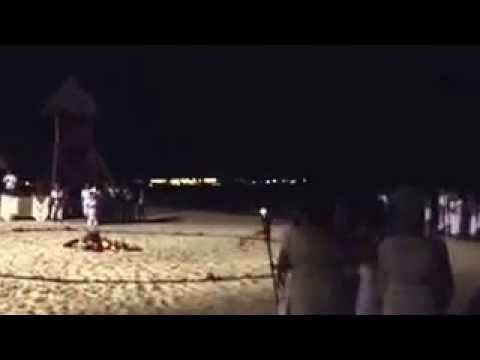 Mayan Beach Ceremony & Dancing