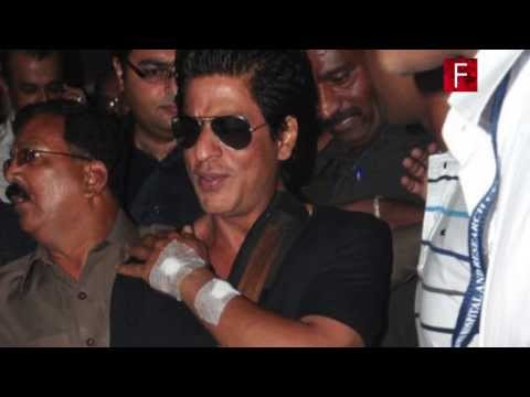 Shahrukh Khan injured while shooting for Happy New Year
