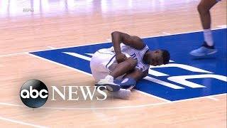 Nike investigates Duke star's broken shoe - ABCNEWS
