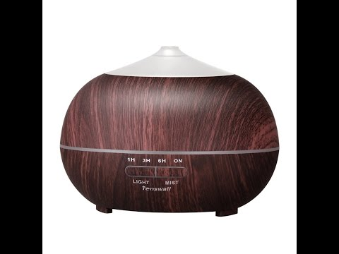Tenswall 400ml Cool Mist Humidifier - REVIEW - The Amanda Cooke