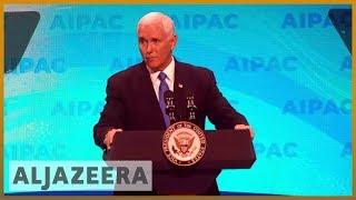 🇺🇸 🇮🇱 US officials vow support for Israel at AIPAC conference   Al Jazeera English - ALJAZEERAENGLISH