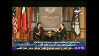 """بالفيديو.. أحمد موسى: """"أمير قطر والله لا يعرف علم بلاده"""""""