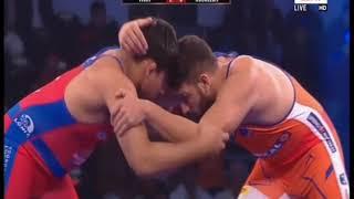 Pwl 3 Day 15: Vicky VS Roublejit at Pro Wrestling League season 3|Full Match - NEWSXLIVE