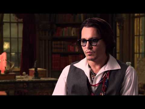 Dark Shadows Johnny Depp On Set Interview